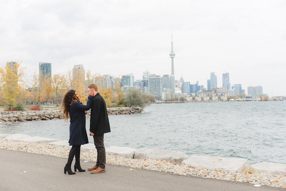 Downtown Toronto Proposal Jessilynn Wong Photography