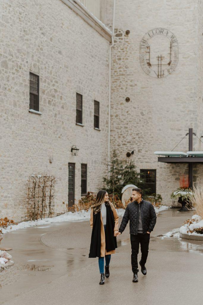 Proposal at Elora Mill Hotel