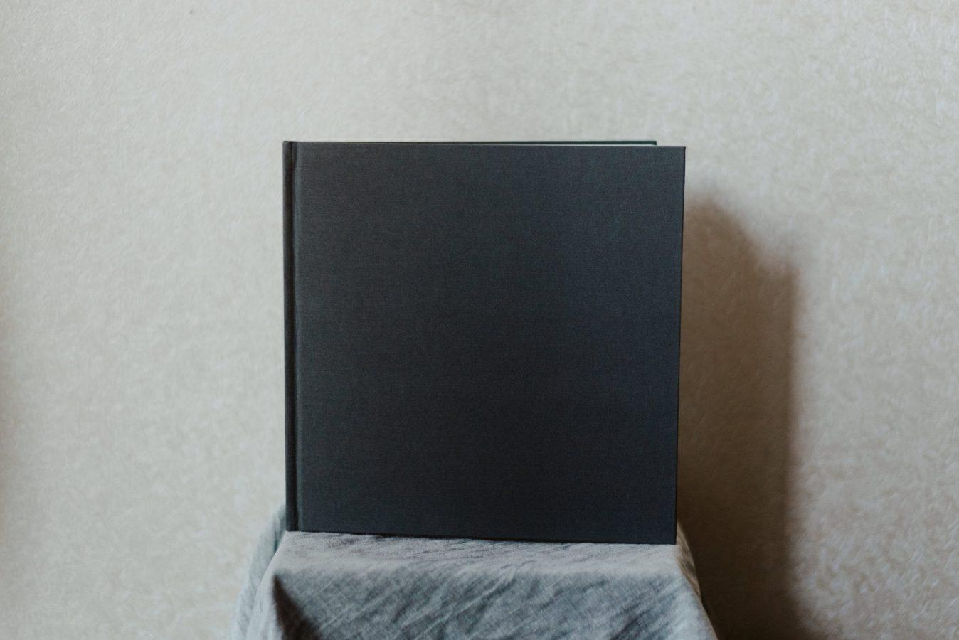 12x12 Linen Wedding Book